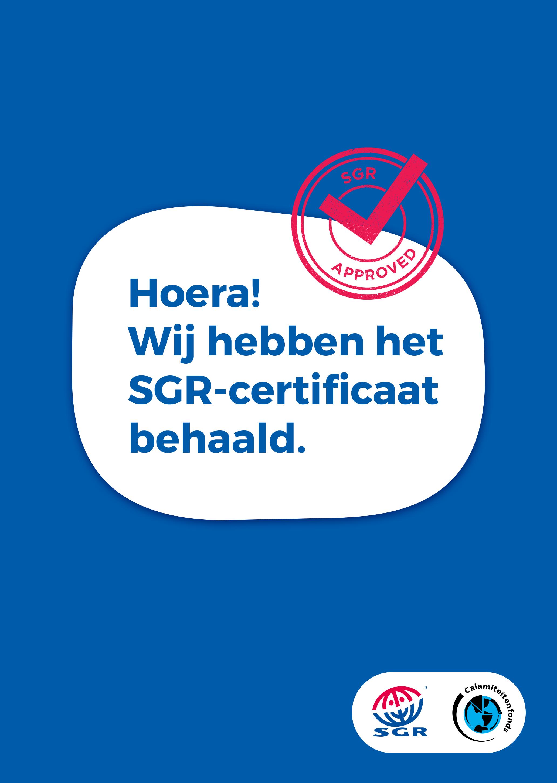 SGR-Certificaat-Behaald